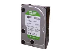 "Western Digital WD Green WD7500AARX 750GB IntelliPower 64MB Cache SATA 6.0Gb/s 3.5"" Internal Hard Drive"