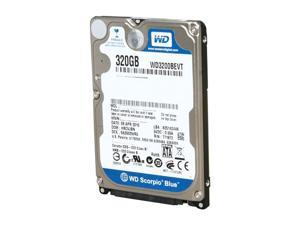 Western Digital 320GB Scorpio Blue SATAII 5400RPM 2.5IN 8MB Bulk/OEM Hard Drive