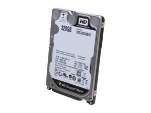 "Western Digital Scorpio Black WD3200BEKT 320GB 7200 RPM 16MB Cache SATA 3.0Gb/s 2.5"" Internal Notebook Hard Drive Bare Drive"