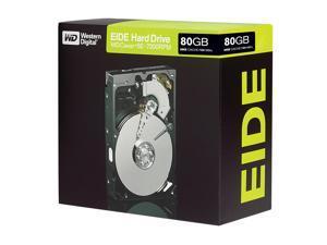 """WD Blue WD800JBRTL 80GB 7200 RPM 8MB Cache IDE Ultra ATA100 / ATA-6 3.5"""" Hard Drive"""