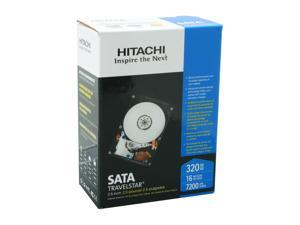 """Hitachi GST Travelstar HD20320 IDK/7K (0S00154) 320GB 7200 RPM SATA 3.0Gb/s 2.5"""" Internal Notebook Hard Drive"""