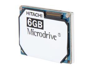 """Hitachi GST Microdrive 3K8 HMS361006M5CE00 6GB 3600 RPM 128KB Cache IDE Ultra ATA33 / ATA-4 1"""" Internal Hard Drive"""