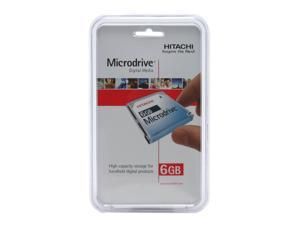 "Hitachi GST Microdrive 3K6 HMS360606D5CF00 (MD6GB-BP) 6GB 3600 RPM 128KB Cache CF+ Type II 1"" Hard Drive"