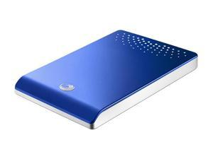 "Seagate FreeAgent Go 500GB USB 2.0 2.5"" External Hard Drive ST905003FBA2E1-RK Royal Blue"