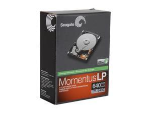 "Seagate Momentus ST906403N1A1AS-RK 640GB 5400 RPM 8MB Cache SATA 3.0Gb/s 2.5"" Internal Hard Drive"