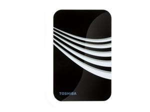 "TOSHIBA 500GB 2.5"" Frost White & Black External Hard Drive"