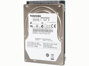 "TOSHIBA MK2576GSX 250GB 5400 RPM 8MB Cache SATA 3.0Gb/s 2.5"" Internal Notebook Hard Drive Bare Drive"