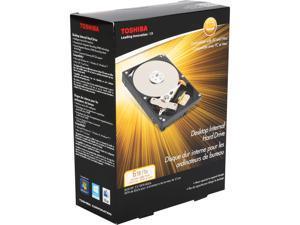 """TOSHIBA PH3600U-1I72 6TB 7200 RPM 128MB Cache SATA 6.0Gb/s 3.5"""" Internal Hard Drive Retail Kit"""