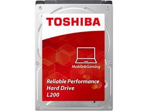 "TOSHIBA L200 HDWJ105XZSTA 500GB 5400 RPM 8MB Cache SATA 3.0Gb/s 2.5"" Notebook Internal Hard Drives Retail"