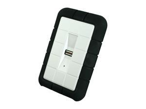 "LACIE Rugged SAFE 500GB 2.5"" USB 2.0 / Firewire800 Secure All–Terrain External Hard Drive"