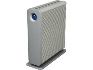 LaCie D2 Quadra 5TB USB 3.0/2 x FireWire 800/1 x eSATA External Hard Drive 9000481U Silver