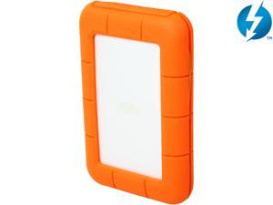 LaCie 1TB Rugged Thunderbolt Portable External Hard Drive USB 3.0 / Thunderbolt Model LAC9000488