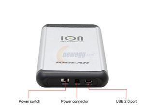 """IOGEAR ION 80GB USB 2.0 2.5"""" External Hard Drive"""