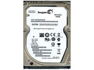 "Seagate ST9640423AS 640GB 5400 RPM 16MB Cache SATA 2.5"" Internal Notebook Hard Drive Bare Drive"