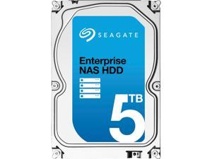 "Seagate Enterprise NAS ST5000VN0001 5TB 7200 RPM 128MB Cache SATA 6.0Gb/s 3.5"" Internal Hard Drive Bare Drive"