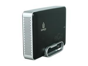 "iomega eGo Desktop 1TB 3.5"" Jet Black External Hard Drive"