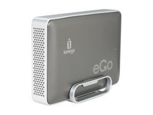 "iomega eGo Desktop 1TB USB 3.0 3.5"" External Hard Drive Charcoal"