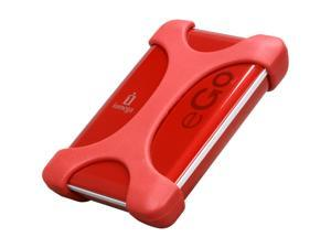iomega eGo Portable 1TB USB 3.0 External Hard Drive Ruby Red