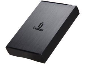 "iomega Prestige Portable 1TB USB 3.0 2.5"" External Hard Drive Black"