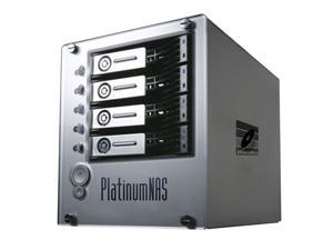 MicroNet PNAS1000P PlatinumNAS Plus Dual gigabit ethernet Network Attached RAID Storage