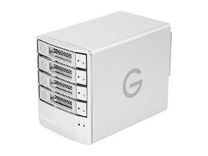 G-Technology G-SPEED Q 8TB 7200 RPM USB 2.0 / 2 x Firewire800 / eSATA External Hard Drive Array Model 0G01793