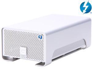 G-Technology G-RAID with Thunderbolt 8TB 7200 RPM Thunderbolt x 2 Professional Portable Dual-Drive Storage System Model 0G02272