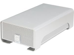 G-Technology G-RAID 6TB USB 2.0 / Firewire800 / eSATA DAS Hard Drive Array - 2 x HDD Installed External Hard Drive