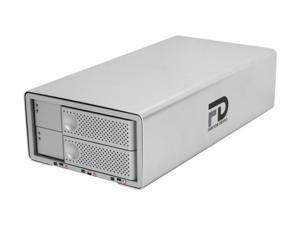 "Fantom Drives DataDock II 4TB eSATA, FireWire 800, FireWire 400 and USB 2.0 3.5"" Quad Interface Dual Drive RAID"