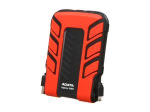 "ADATA Superior Series 2.5"" 500GB SH93 Water & Shock Proof External Hard Drive (Red) Model ASH93-500GU-CRD"