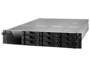 Asustor AS-609RS 9-Bay Rack mount NAS, Single power supply, Intel ATOM Dual Core, 1GB DDR3, GbE x 2 (w/ link aggredation), USB 3.0 & SATA III, WoL, System Sleep Mode
