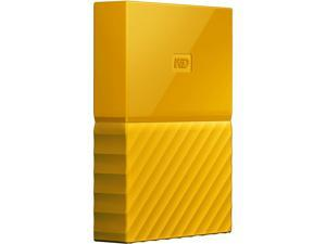 WD 2TB My Passport Portable Hard Drive USB 3.0 Model WDBYFT0020BYL-WESN Yellow