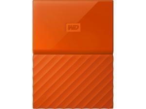 WD 1TB My Passport Portable Hard Drive USB 3.0 Model WDBYNN0010BOR-WESN Orange