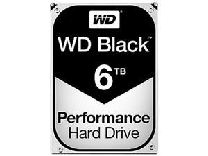 WD Black 6TB Performance Desktop Hard Disk Drive - 7200 RPM SATA 6Gb/s 128MB Cache 3.5 Inch - WD6002FZWX