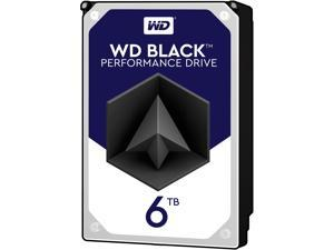 "WD Black WD6002FZW 6TB 7200 RPM 128MB Cache SATA 6.0Gb/s 3.5"" Performance Storage"