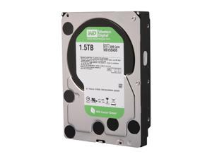 "WD WD Green WD15EADS 1.5TB 32MB Cache SATA 3.0Gb/s 3.5"" Internal Hard Drive Bare Drive"