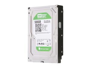 Western Digital WD Green 500GB 3.5' SATA 6.0Gb/s Internal Hard Drive -Bare Drive - OEM
