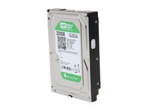 "Western Digital WD Green WD3200AZRX 320GB IntelliPower 64MB Cache SATA 6.0Gb/s 3.5"" Internal Hard Drive Bare Drive"