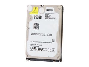"WD WD2500BVVT 250GB 5400 RPM SATA 3.0Gb/s 2.5"" Internal Notebook Hard Drive"