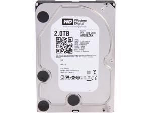 """WD WD Green WD20EZRX 2TB IntelliPower 64MB Cache SATA 6.0Gb/s 3.5"""" Internal Hard Drive Bare Drive"""