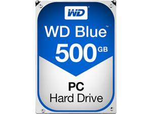 "WD Blue WD5000AZLX 500GB 7200 RPM 32MB Cache SATA 6.0Gb/s 3.5"" Internal Hard Drive Bare Drive"