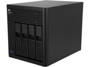 WD EX4100 (WDBWZE0000NBK-NESN) My Cloud™ Expert Series 4-Bay Diskless NAS with dual-core processor