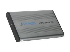 cirago 500GB Portable Hard Drive USB 2.0 Model CST1500