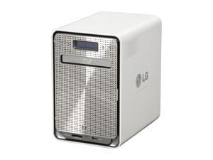 LG N4B1N 4 Bay Super Multi NAS with Built-in Blu-ray Rewriter