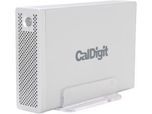 CalDigit AV Drive 4TB USB 3.0 / 2 x Firewire800 External Hard Drive Silver