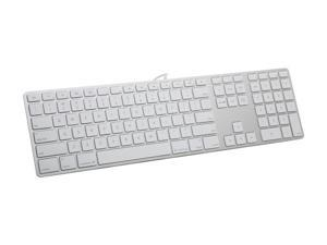Apple MB110LL/B White Wired Keyboard with Numeric Keypad - English (USA)