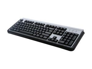 LITE-ON SK-1788/BS Black and Gray Wired Keyboard