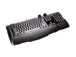 Microsoft Black Powerful Programmable Gaming Keyboard
