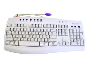 Microsoft C59-00092 Beige Wired Keyboard and Mouse - OEM