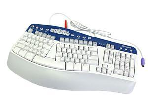 Microsoft NATURAL MULTIMEDIA K50-00001 2-Tone Wired Keyboard