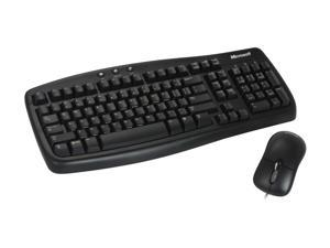 Microsoft CA9-00001 Black Basic Keyboard and Mouse - OEM